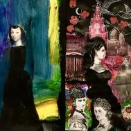 Women at Albert Dock - Collage - 2019.